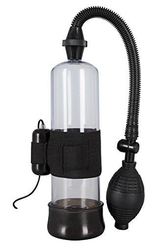 ORION Penispumpe Vibration Pump - Vakuumpumpe mit kraftvollem Vibro-Ei für effektive und lustvolle Erektionen - stimuliert und trainiert gleichzeitig