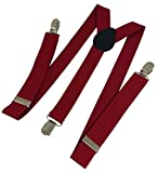 Sylan's Men's Suspender maroon