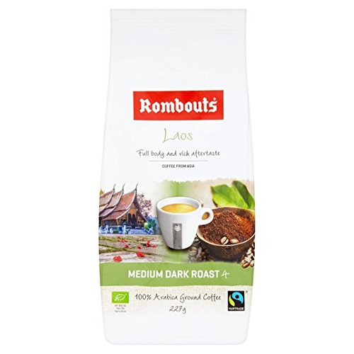 Rombouts Single Origin Laos gemahlener Kaffee 227g