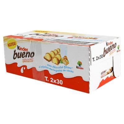 Kinder - Bueno white chocolat blanc