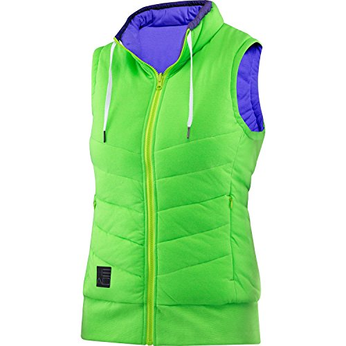 Head Transition W T4S Reversibile-Giacca per Donna, Donna, Verde (GN), S