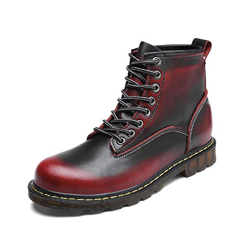 Nombre del producto: Martin Boots para hombres Detalles: 1. Cómodo por dentro, cómodo y seco, mantenga los pies relajados y cómodos, y la parte superior de los pies es suave y fácil de usar.  3, cuero fino, cómodo y resistente al desgaste, duradero y...