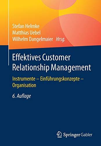 Effektives Customer Relationship Management: Instrumente - Einführungskonzepte - Organisation