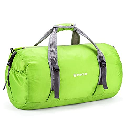Evecase Foldable Duffle Bag Packable Travel Bag Lightweight Storage Bags