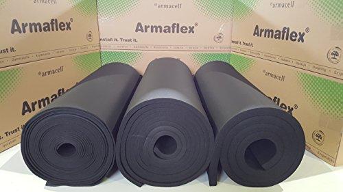 Original Armaflex nichtselbstklebende Dämmmatten 19mm/6m² Dämmung Isolierung Kautschuk - 1 Karton