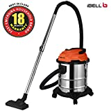 iBELL 2012WB Wet and Dry Vacuum Cleaner 1200watts with Blower Function,20-litres,Stainless Steel Drum