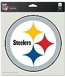 NFL die cut decal 20 x 20 cm (8' x 8') Pittsburgh Steelers