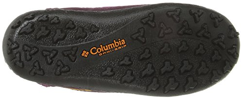Columbia Youth Minx Slip Omni-Heat, Bottes courtes  Fille Violet (Intense Violet/Flame Orange 519)