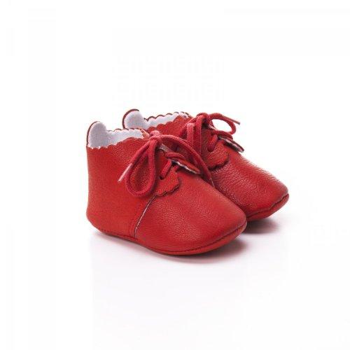 Toma , {Chaussures premiers pas pour bébé (garçon) rojo - rojo