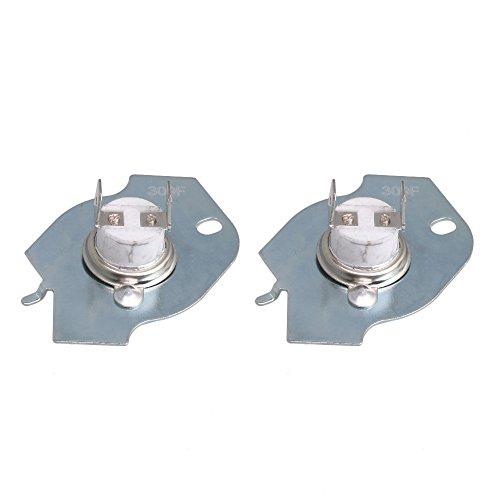 WP3977393 Trockner Thermostat Thermische Sicherung Endschalter Kit Ersetzen 3399848 3977393 Whirlpool Trockner Pack von 2 stück (Thermostat Whirlpool Trockner)