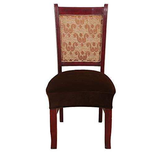 Souarts - Funda elástica para sillas, extraíble, para Banquetes, Bodas, Ceremonias, restaurantes, hoteles, 40 cm x 42 cm