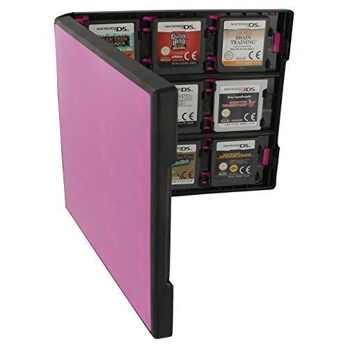 Assecure Pro 18in 1Game Cartridge Halter Storage System Folio Style Case Box für Nintendo 3DS, 2DS und DS Spiel Karten (System Storage Box)
