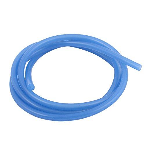 Aexit 1M blu in PVC morbido monouso in silicone anti-invecchiamento accessori per tubi benzina D5.2x2.5x1000mm ID: 992676