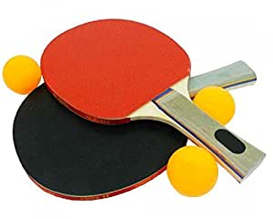 Aurion TT200 Plastic Table Tennis Set (Black)