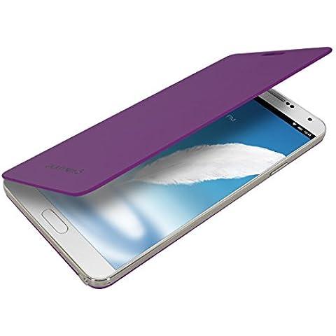 kwmobile Funda potectora práctica y chic FLIP COVER para Samsung Galaxy Note 3 en violeta