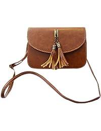 371a056e1ec36 Milya Retro-Taschen Damen Handtasche Portemonnaie PU Leder Satchel Small  Umhängetasche Mode-Design mit