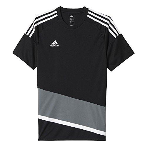 adidas Herren T-Shirt REGI 16 JSY Black/White/Vista Grey