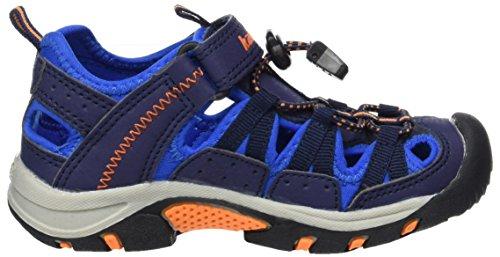Kamik Wildcat, Chaussures de Randonnée Basses mixte enfant Blau (NAVY/MARINE)