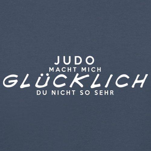 Judo macht mich glücklich - Unisex Pullover/Sweatshirt - 8 Farben Navy