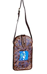 NCAA Duke Blue Devils Women's Cross Body Purse, Brass, One Size
