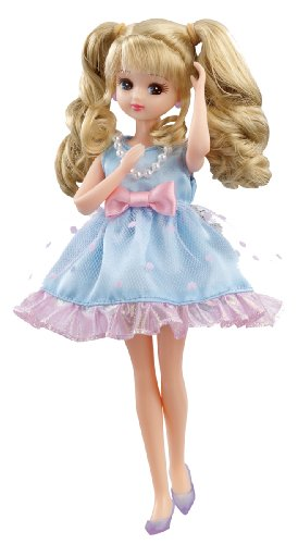 Rika-chan LW-02 one-piece set Cool dot tulle (japan import)