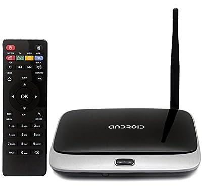 SEGURO® CS918 2G RAM/ 16G ROM Android 4.4 Smart TV BOX XBMC Fully Loaded Quad Core WIFI 1080P HDMI Media (2G/16G)