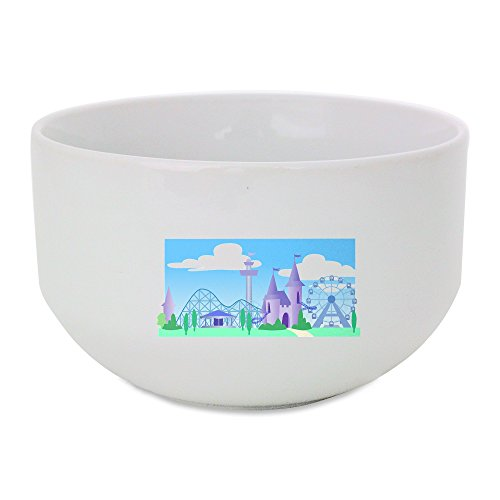 ceramic-bowl-with-fancy-theme-park-under-the-sky