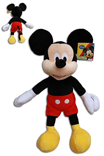 Mickey Mouse 30cm Muñeco Peluche Super Soft Raton Disney Junior Mickey Mouse Club House Alta Calidad