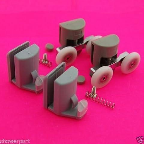 Set di 4 cuscinetti a sfera per box doccia, ganci e guide da 23 mm, diametro 003-082 L, modello: L 003-082, Tools & Hardware store