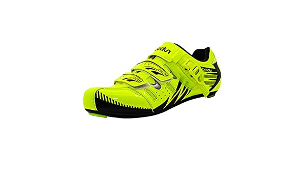 Bulary Chaussures de Cyclisme Chaussures Respirantes Anti-d/érapantes Chaussures de v/élo de Route Respirantes antid/érapantes v/éhicules l/égers Chaussures de Cyclisme en Carbone