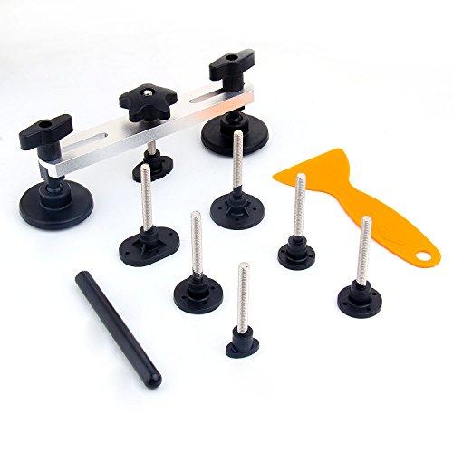 Hltd PDR Auto Dent Herramientas de reparación de eliminación,7pcs Diferentes formas herramienta para reparar Auto Dent