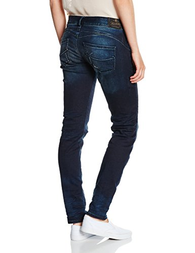 Herrlicher Damen Jeanshose Gila Slim Denim Stretch Blau (nightlake 645)