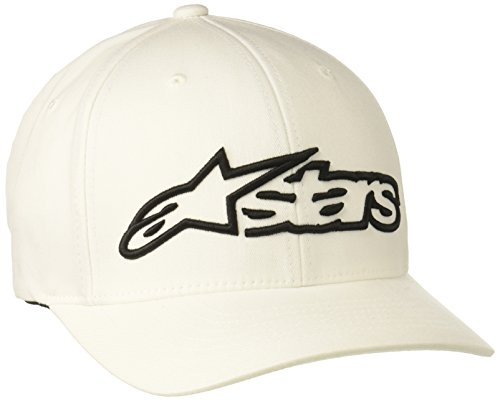 Alpinestars Herren Hat BLAZE FLEXFIT-  white/black