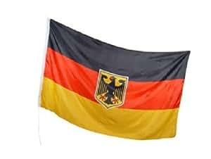 Deutschland Flagge mit Adler 90x150cm