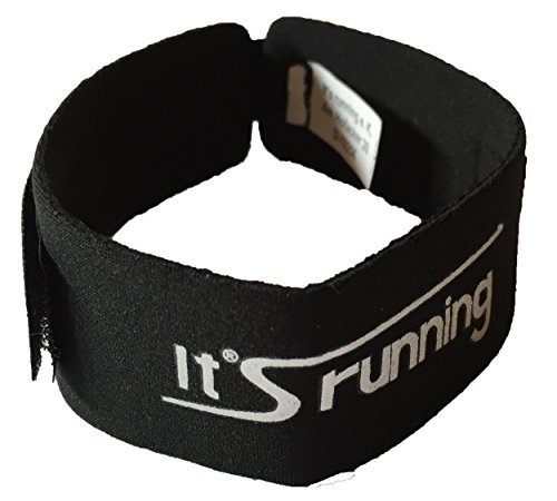 It's running Zeitnahme Timing Chip Neopren Band, Black, One Size
