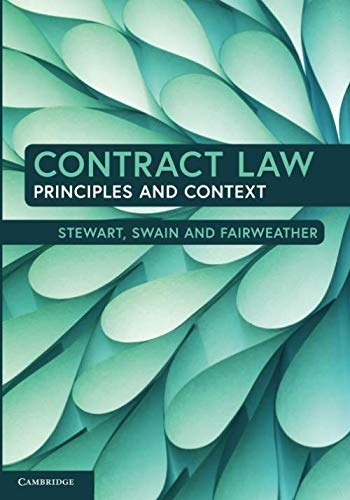 Contract Law: Principles and Context