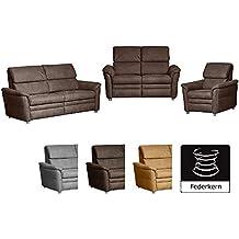 Suchergebnis Auf Amazon De Fur Sitzgarnitur Wohnzimmer Leder