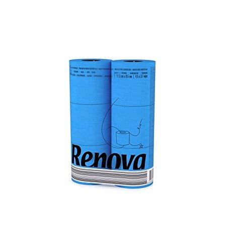 Renova Toilettenpapier Blau (6 Rollen)
