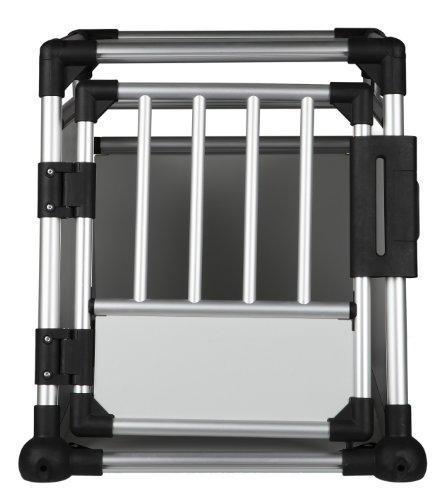 Trixie 39341 Transportbox, Aluminium, 55 x 62 x 78 cm, farblich sortiert - 2