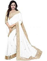 4220e0ec0a00c Whites Women s Sarees  Buy Whites Women s Sarees online at best ...