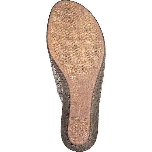 Jana Pantofola Pantacollant Donna 8-27210-20-988 Oro Platino Gold
