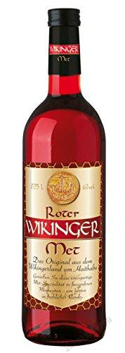 Roter Wikinger Met Behn Honigwein 6,0% Vol. in der Flasche 1x 0,75l