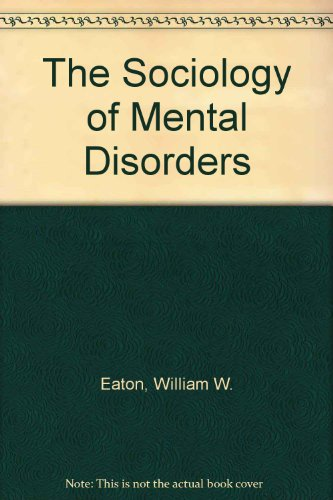 Price comparison product image The Sociology of Mental Disorders,  2nd Edition