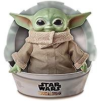 Mattel Star Wars The Mandalorian, Figurine Peluche The Child, Bébé Yoda, 28 cm
