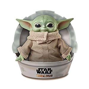 Star Wars - The Child Baby Yoda, de la serie The Mandalorian, figura de 28 cm (Mattel GWD85)