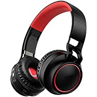 Nanle Auriculares inalámbricos Bluetooth Ordenador portátil Auriculares Subwoofer Auriculares de luz de Color Juego Música Deportes