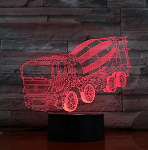 Kronleuchter E27 Vintage Light Wandleuchte Led Lichtmixer Truck 3D Lampe Schlafzimmer Led Atmosphäre Kreative Nachttisch Leuchten Usb Nachtlicht Kinder Geschenk