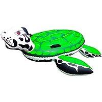 Aufblastiere Aufblasbare Schildkröte See-Schildkröte ca 152cm Durchmesser Beachparty