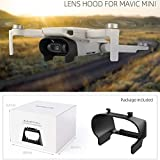 Alecony Gimbal Camera Lens Protector Cover Kompatibel mit DJI MAVIC Mini Drone, Objektivdeckel Objektivkappe Hood Caps Schutz Schutzhülle Gegenlichtblende Schutzkappe Blendschutz Sonnenblende Zubehör
