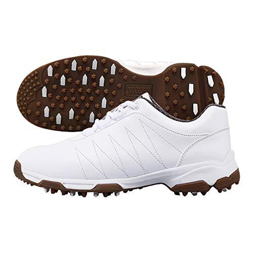 FELICIPP Golfschuhe Damen Spike-Less Schuhe Wasserdichte Anti-Rutsch-Drehknöpfe Abriebfestigkeit multifunktionale Outdoor (Color : 2, Size : 39)